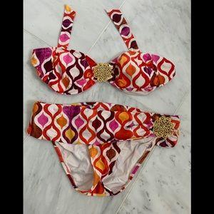 TRINA TURK Bandeau Bikini